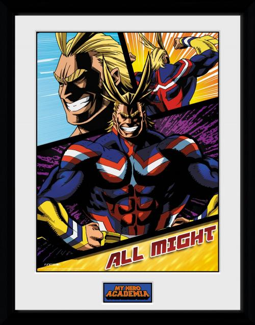 MY HERO ACADEMIA - Collector Print 30X40 - All Might Panels