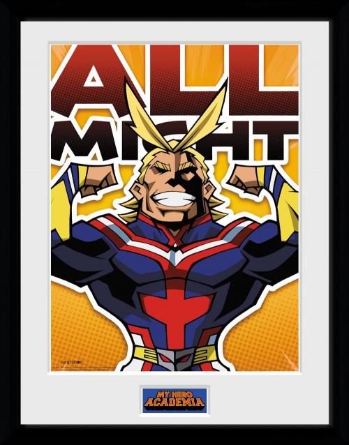 MY HERO ACADEMIA - Collector Print 30X40 - All Might Chibi