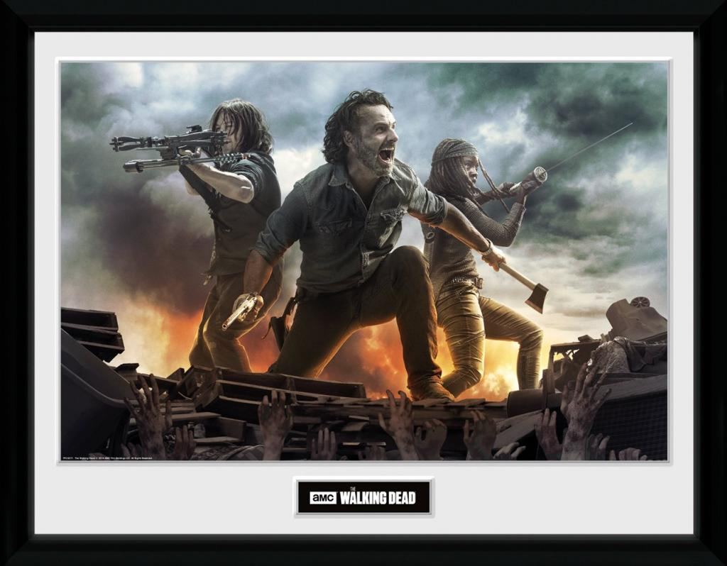 THE WALKING DEAD - Collector Print 30X40 - Fire