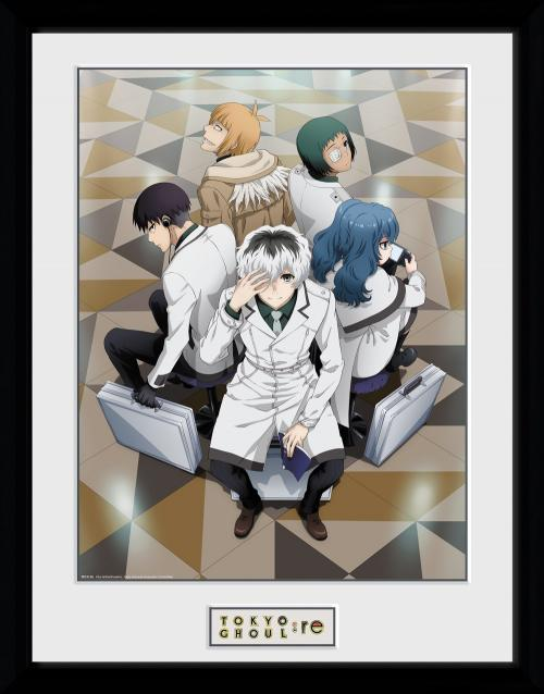 TOKYO GHOUL:RE - Quinx Squad - Collector Print '30x40cm'