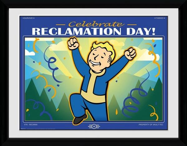 FALLOUT 76 - Collector Print 30X40 - Reclamation Day