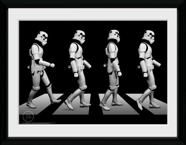 STAR WARS - Collector Print 30X40 - Original Stormtrooper Crossing