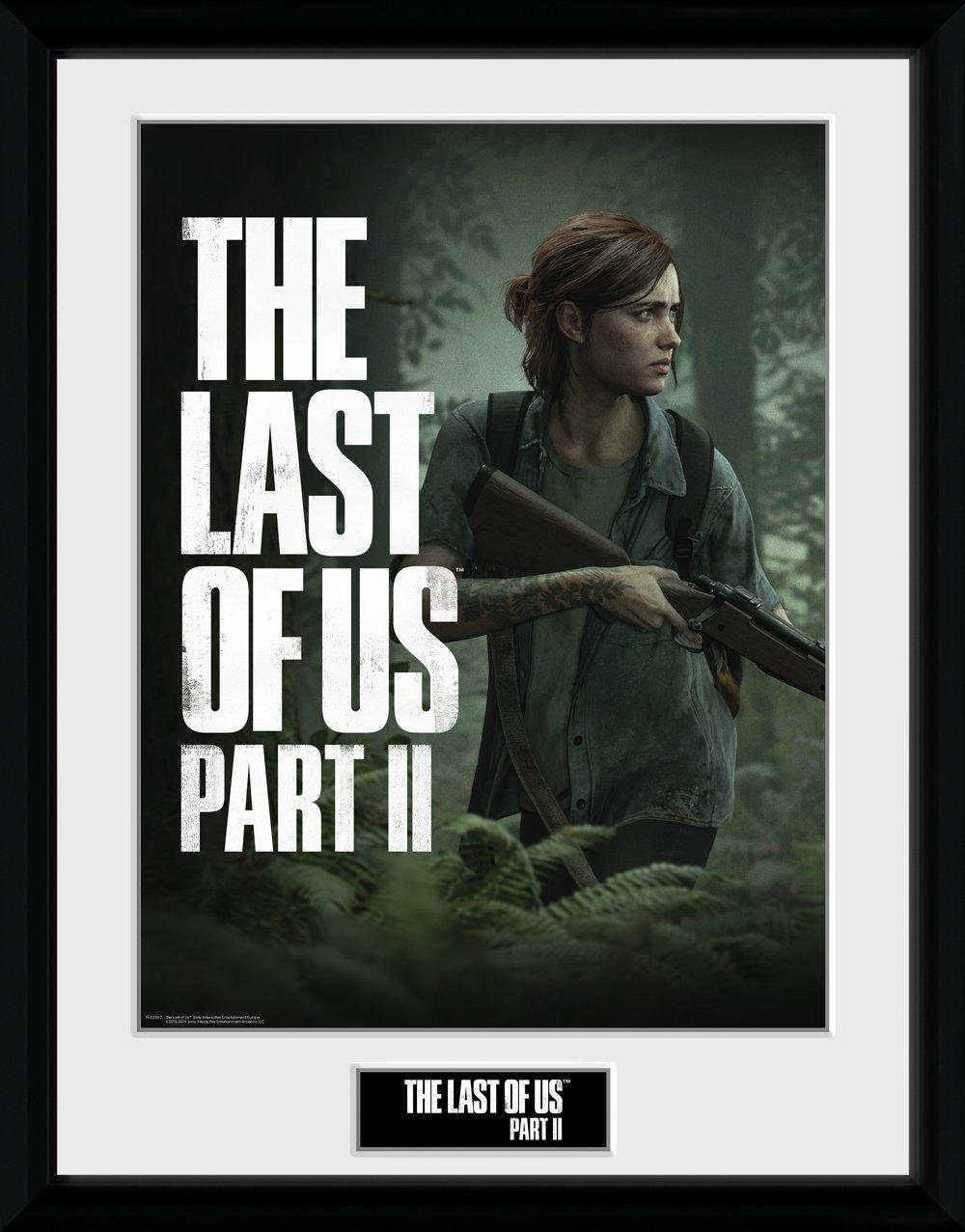 THE LAST OF US - Collector Print 30X40 - Part 2 - Key Art