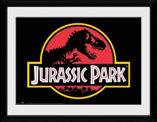 JURASSIC PARK - Collector Print 30X40 - Logo