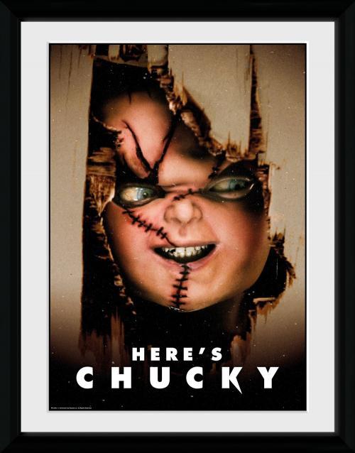 CHUCKY - Collector Print 30X40 - Here's Chucky