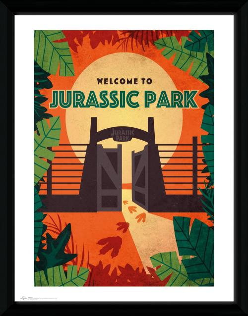 JURASSIC PARK - Collector Print 30X40 - Welcome