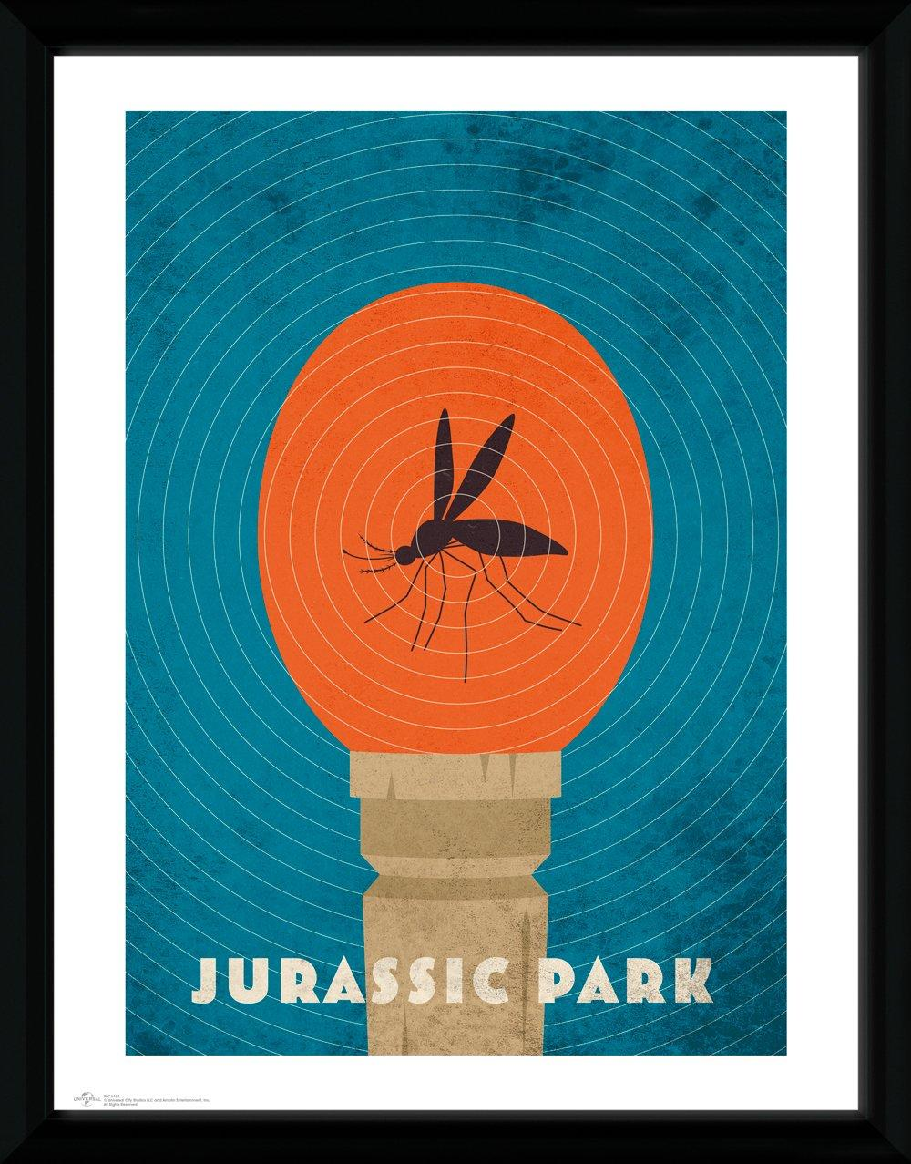 JURASSIC PARK - Collector Print 30X40 - Amber