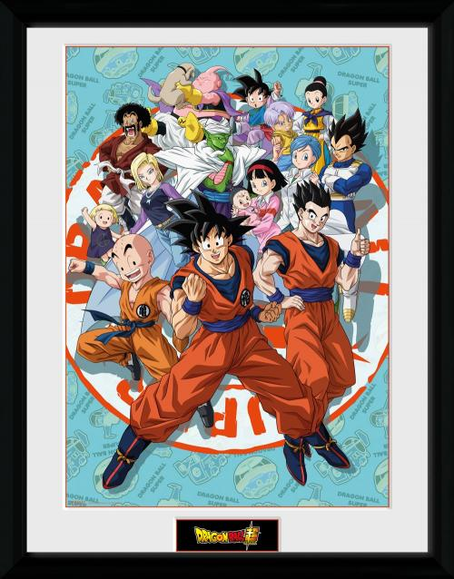 DRAGON BALL SUPER - Collector Print 30X40 - Universe Group