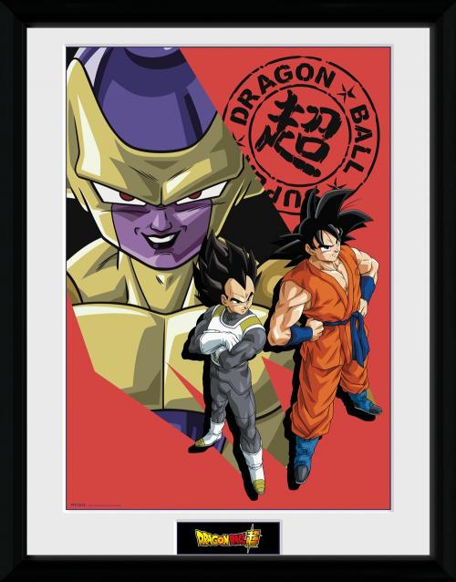 DRAGON BALL SUPER - Collector Print 30X40 - Resurrection Group