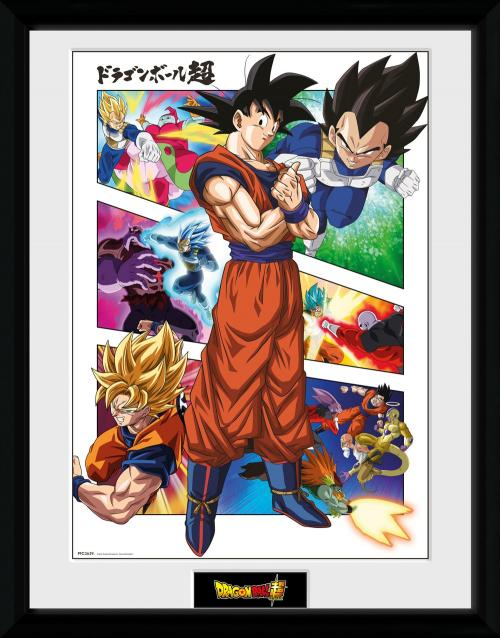 DRAGON BALL SUPER - Panels - Collector Print '30x40cm'