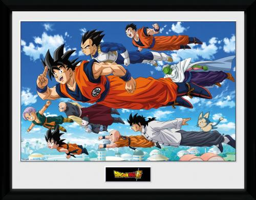 DRAGON BALL SUPER - Flying - Collector Print '30x40cm'