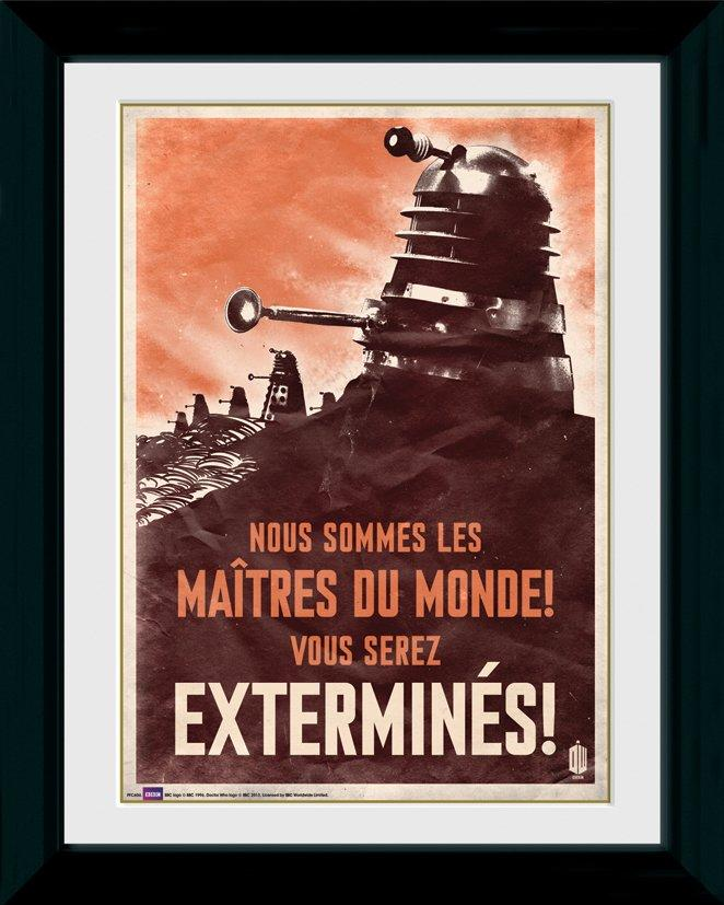 DOCTOR WHO - Collector Print 30X40 - Daleks