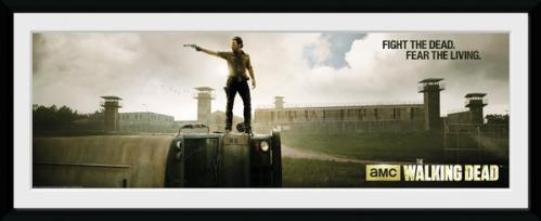 THE WALKING DEAD - Collector Print 30X75 - Prison