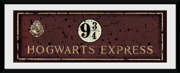 HARRY POTTER - Collector Print 30X75 - Hogwarts Express