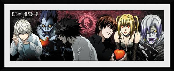 DEATH NOTE - Collector Print 30X75 - Characters