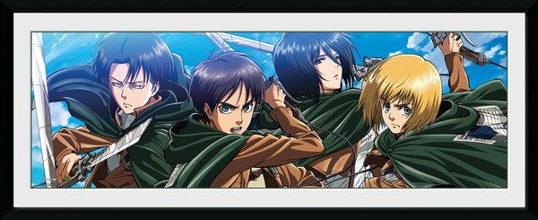 ATTACK ON TITAN - Collector Print 30X75 - Scout