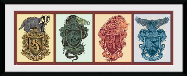 HARRY POTTER - Collector Print 30X75 - House Animals_1