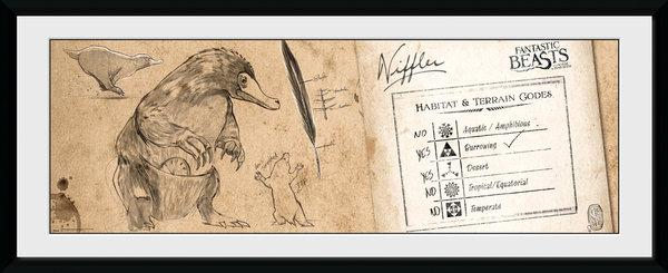 FANTASTIC BEASTS - Collector Print 30X75 - Niffler