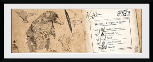 FANTASTIC BEASTS - Collector Print 30X75 - Niffler