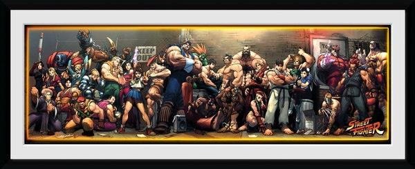 STREET FIGHTER - Collector Print 30X75 - Times