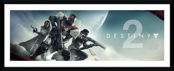 DESTINY 2 - Collector Print 30X75 - Key Art_1