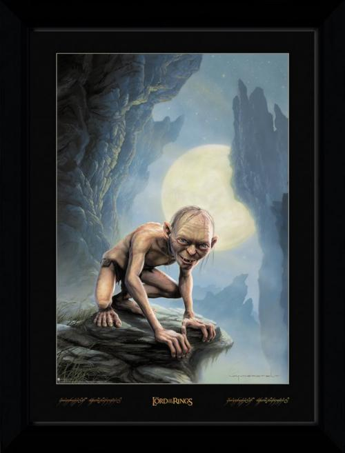 LORD OF THE RINGS - Collector Print 50X70 - Gollum