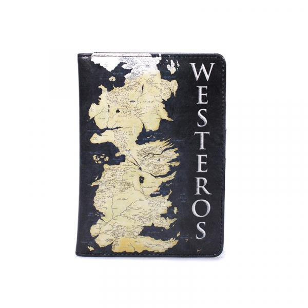 GAME OF THRONES - Passport Holder - Westeros Map