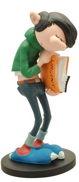 GASTON LAGAFFE - Figurine Resine - Dossier Urgent - 22cm