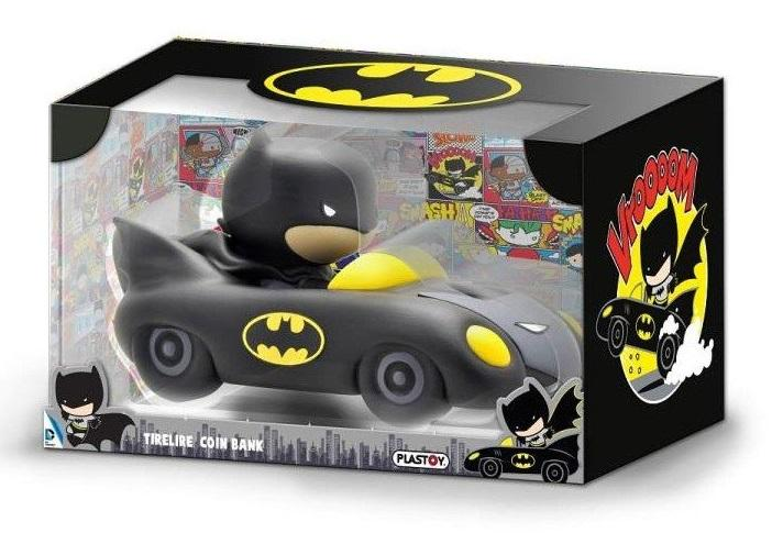 DC COMICS - Mini-Tirelire - Chibi Batmobile - 17cm