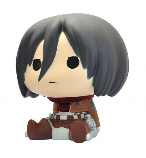 ATTACK ON TITAN - Mini-Tirelire - Chibi Mikasa - 13cm