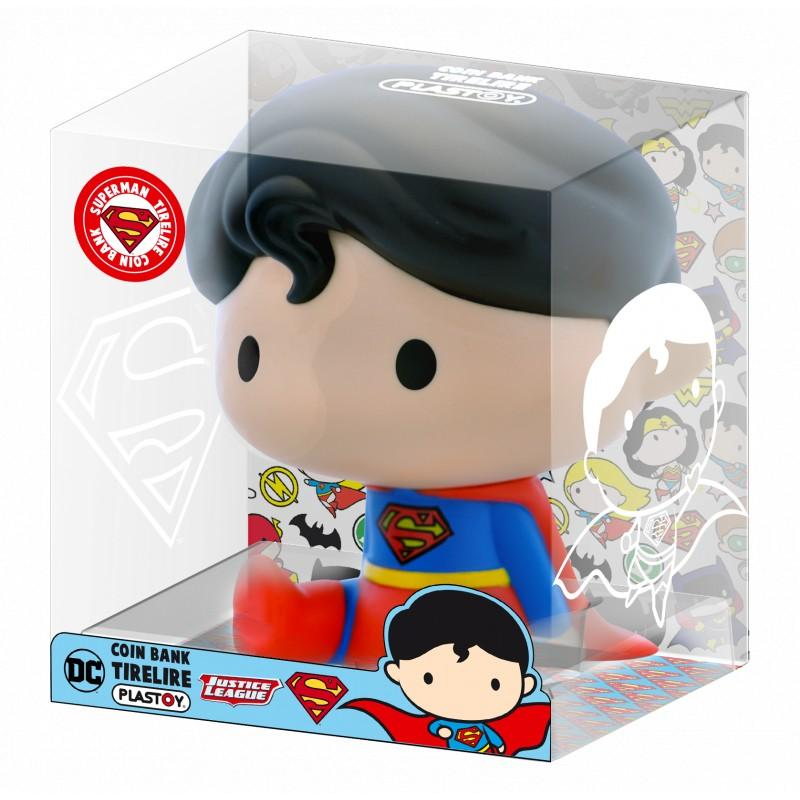 DC COMICS - Mini-Tirelire - Chibi Superman - 13cm