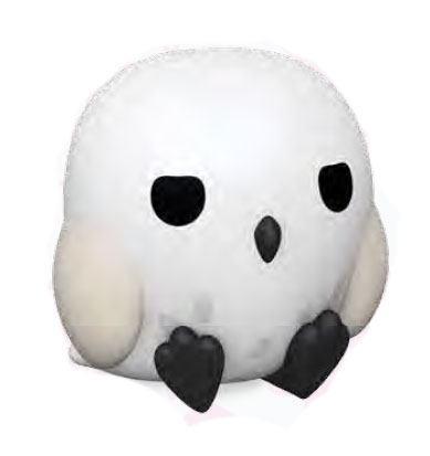 HARRY POTTER - Mini-Tirelire - Chibi Hedwig - 13cm