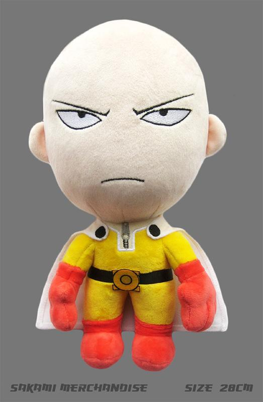 ONE PUNCH MAN - Peluche Saitama Angry - 28 Cm