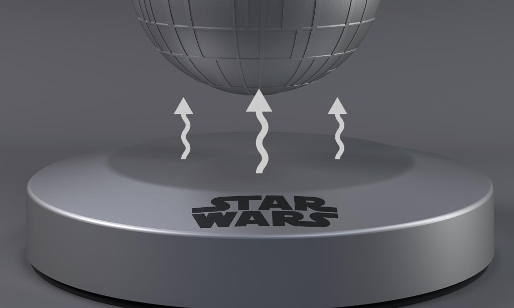 STAR WARS - Levitating Death Star Bluethooth Speaker_3