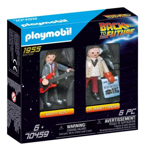 BACK TO THE FUTURE - Dual Pack Marty Mc Fly et Dr. Brown  'PLAYMOBIL'
