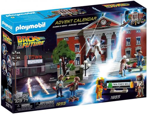 BACK TO THE FUTURE - Calendrier de l'avent 'PLAYMOBIL'