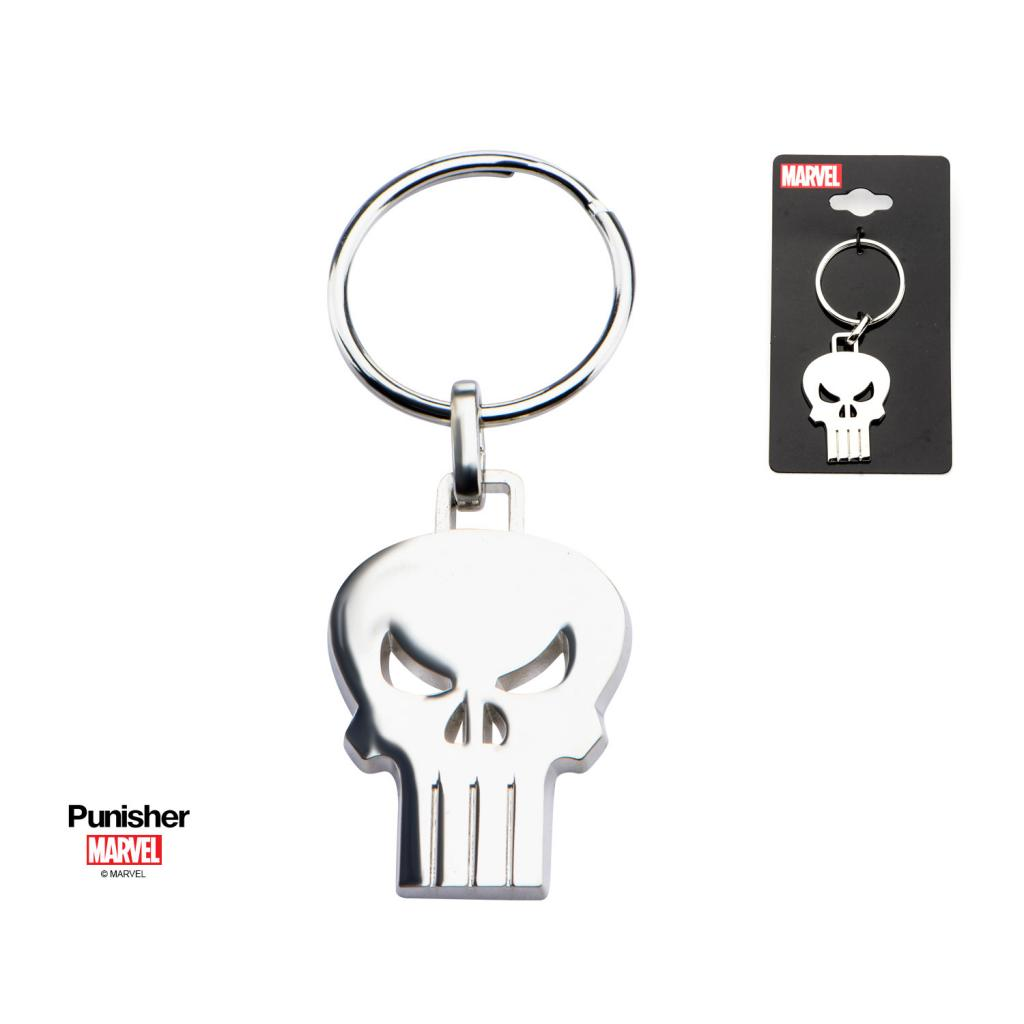 MARVEL - Stainless Steel Punisher Skull Key Chain