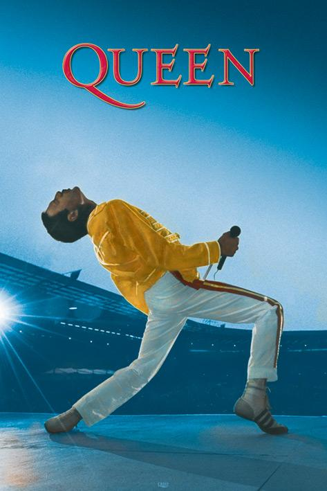 QUEEN - Poster 61X91 - Live at Wembley