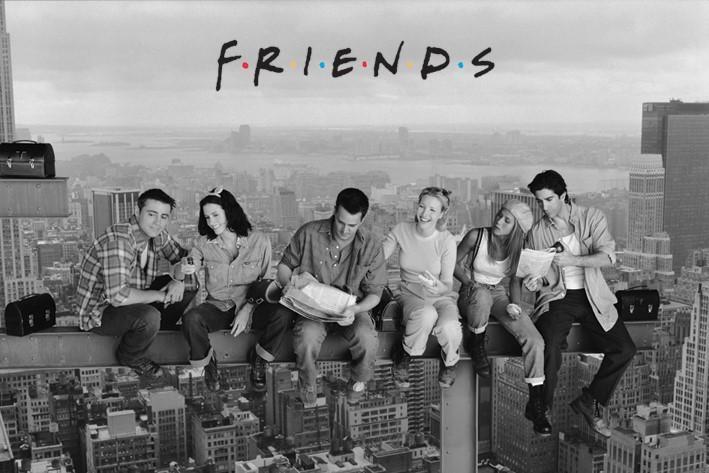 FRIENDS - Poster 61X91 - Skyscraper
