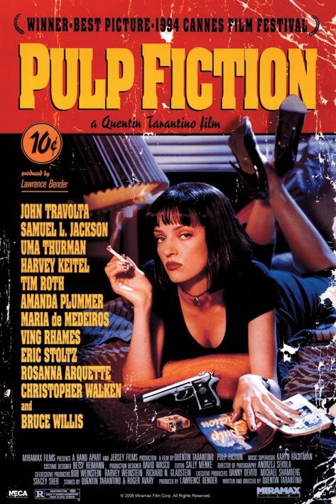 PULP FICTION - Poster 61x91 - Cover