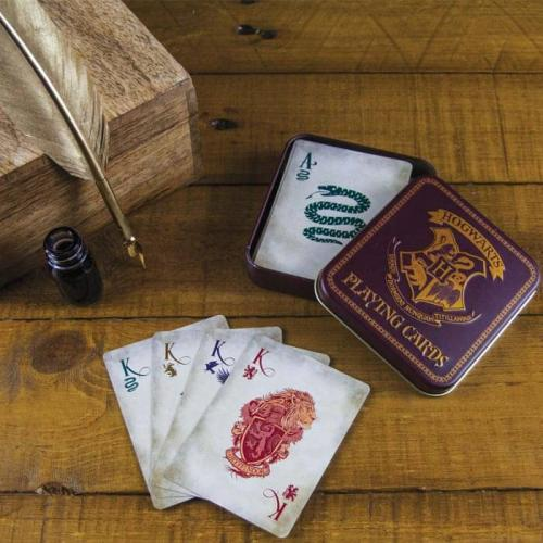 HARRY POTTER - Jeu de Cartes Poudlard Version 2