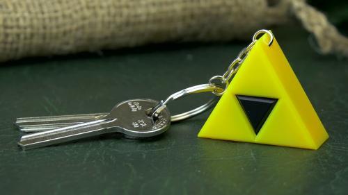 ZELDA - Triforce - Porte-clés lumineux