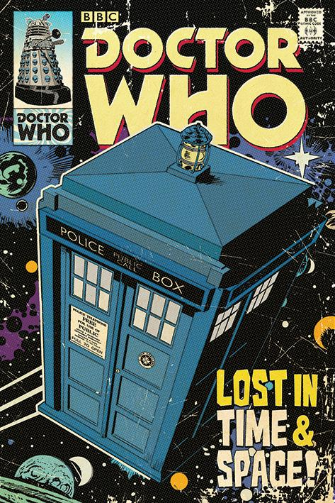 DOCTOR WHO - Poster 61X91 - Lost in Time & Space