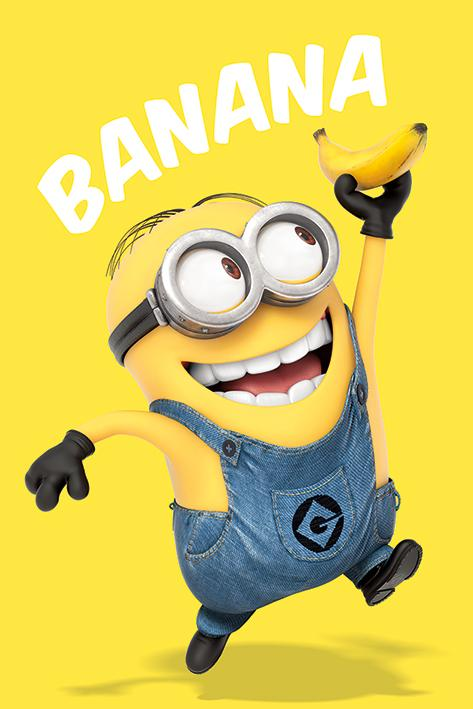 DESPICABLE ME - Poster 61X91 - Banana