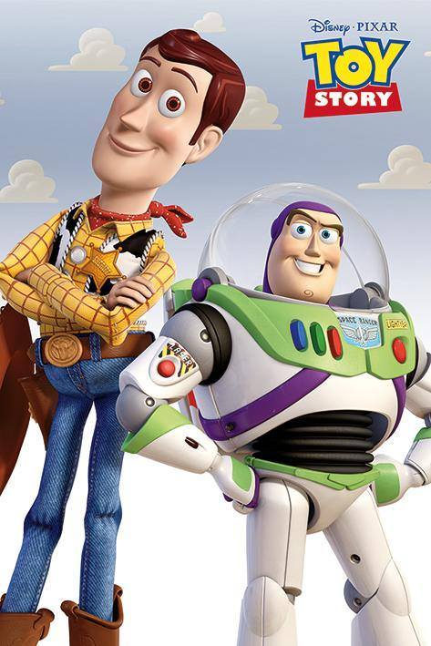 TOY STORY - Poster 61X91 - Woody & Buzz