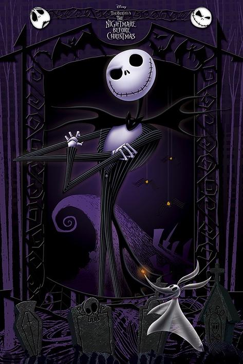 NIGHTMARE BEFORE CHRITSMAS - Poster 61X91 - It's Jack