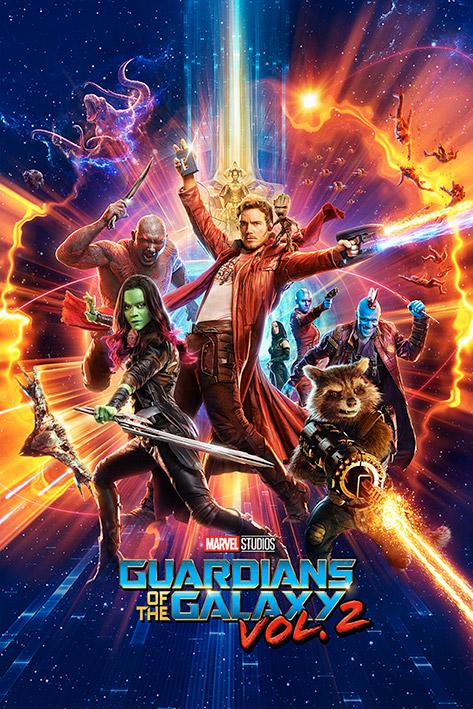 GUARDIANS OF THE GALAXY 2 - Poster 61X91 - One Sheet