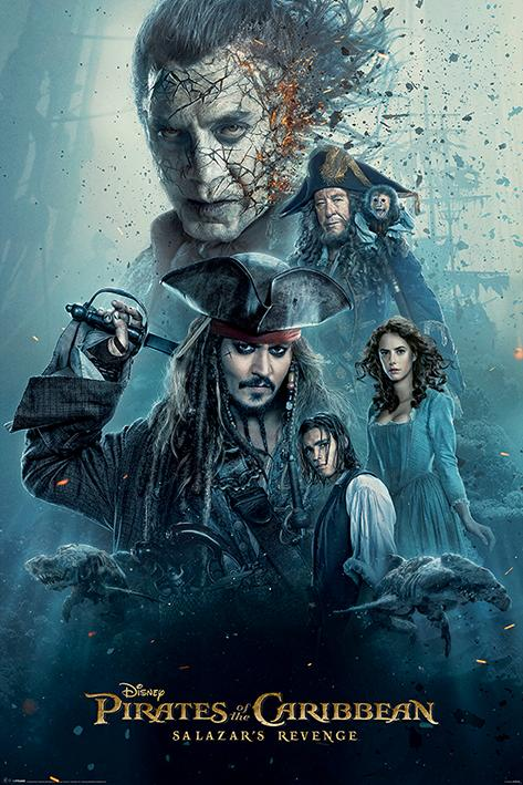 PIRATES OF THE CARIBBEAN - Poster 61X91 - Burning
