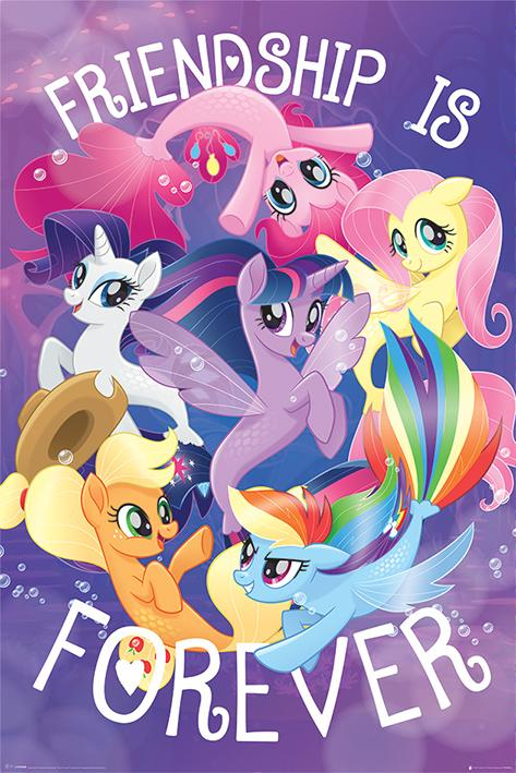 MY LITTLE PONY - Poster 61X91 - Friendship is Forever