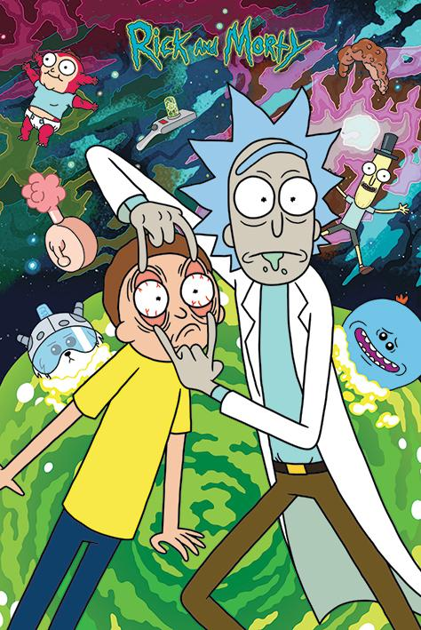 RICK & MORTY - Poster 61X91 - Watch